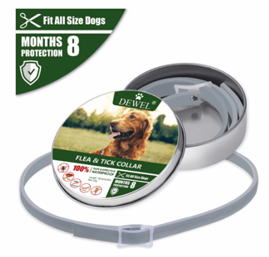 Dewel Flea And Tick Collar - For Large Dogs