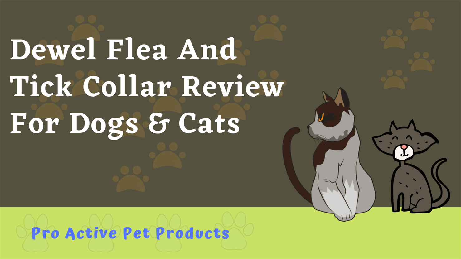 Dewel Flea And Tick Collar Review For Dogs & Cats