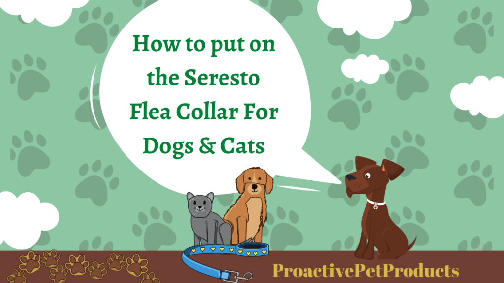 How to put on the Seresto Flea Collar For Dogs & Cats